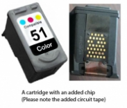 Canon CL-51 Colour (EXTRA CHIP) Reman for
