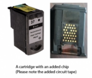 Canon PG-37 Black (EXTRA CHIP) Reman for