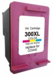 HP 300XL Colour / C644E Reman for