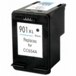 HP 901XL Black / CC654A Reman for