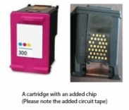 HP 300 / CC643EE Colour (EXTRA CHIP) Reman for