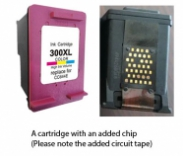 HP 300XL / CC644EE Colour (EXTRA CHIP) Reman for