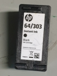 HP 64 / 303 T0A87A Black (INSTANT INK LARGE) for