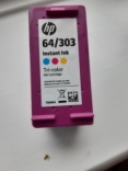 HP 64 / 303 T0A86A Colour (INSTANT INK LARGE) for